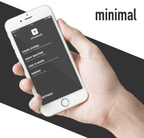 Minimal App – Manage your life